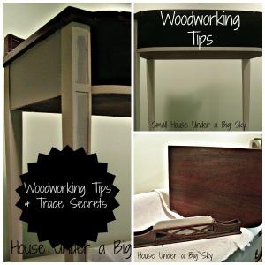 Woorworking Tips & Trade Secrets collage jpeg